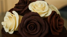 Chocolate Roses Wallpaper
