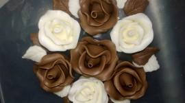 Chocolate Roses Wallpaper Full HD