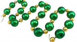 Christmas Beads Desktop Wallpaper HD