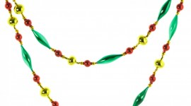 Christmas Beads Photo Free#1
