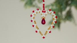 Christmas Beads Wallpaper 1080p