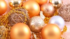 Christmas Beads Wallpaper For Desktop