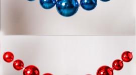 Christmas Beads Wallpaper For Mobile#1