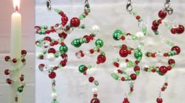 Christmas Beads Wallpaper Full HD