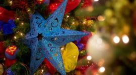 Colorful Christmas Stars Photo#1