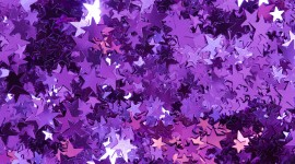 Colorful Christmas Stars Wallpaper Background