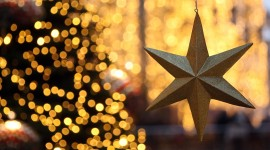 Colorful Christmas Stars Wallpaper Download