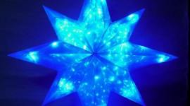 Colorful Christmas Stars Wallpaper For IPhone