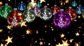 Colorful Christmas Stars Wallpaper HQ