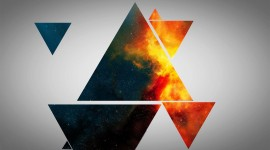 Colorful Triangles Best Wallpaper