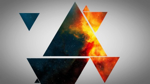 Colorful Triangles wallpapers high quality