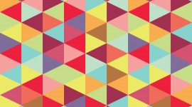Colorful Triangles Wallpaper For Android