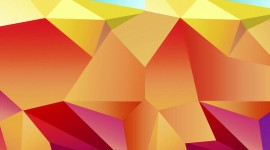 Colorful Triangles Wallpaper For IPhone