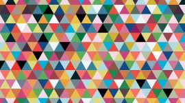 Colorful Triangles Wallpaper Free