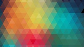 Colorful Triangles Wallpaper Gallery