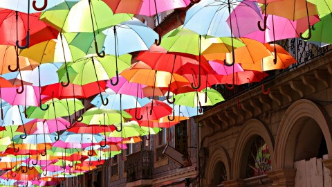 Colorful Umbrellas wallpapers high quality