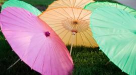 Colorful Umbrellas Wallpaper For Desktop