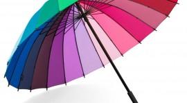 Colorful Umbrellas Wallpaper For IPhone