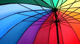 Colorful Umbrellas Wallpaper Full HD
