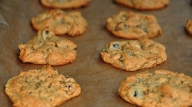 Cookies With Nuts High Quality Wallpaper