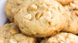 Cookies With Nuts Wallpaper For IPhone Download