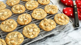Cookies With Nuts Wallpaper Full HD
