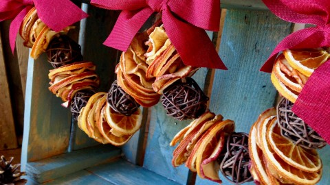 Dried Fruit Garland wallpapers high quality