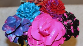 Duct Tape Bouquet Photo
