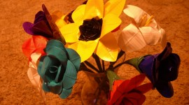 Duct Tape Bouquet Photo Free#1