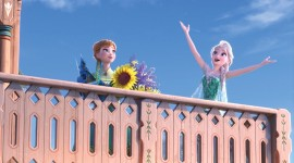 Frozen Fever Desktop Wallpaper HD
