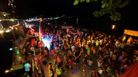 Full Moon Party Thailand Wallpaper Background