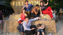 Full Moon Party Thailand Wallpaper Download Free