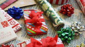 Gift Wrap Wallpaper Background
