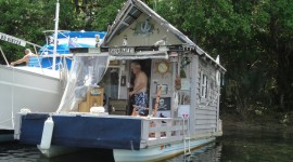 Houseboats Wallpaper Download