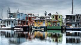 Houseboats Wallpaper For Desktop