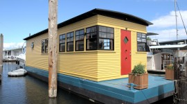 Houseboats Wallpaper For PC