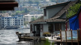 Houseboats Wallpaper Full HD