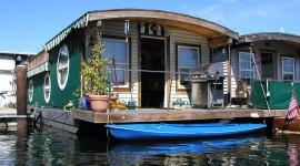 Houseboats Wallpaper HD