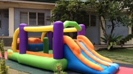 Inflatable Trampoline Wallpaper Download Free
