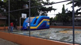 Inflatable Trampoline Wallpaper Free