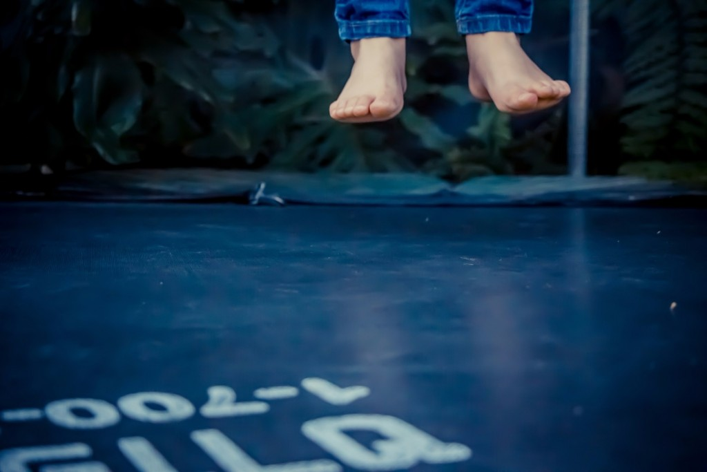Jumping On The Trampoline wallpapers HD