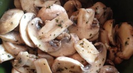 Marinated Mushrooms Wallpaper For IPhone 6 Download