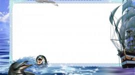 Marine Frame Wallpaper