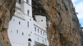 Monastery Wallpaper For IPhone
