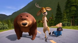 Open Season Scared Silly Wallpaper Free