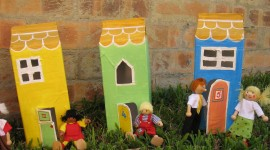 Paper Houses Photo Download