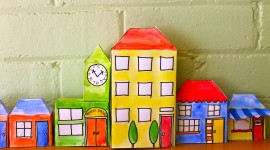Paper Houses Photo Download#1
