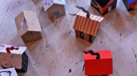 Paper Houses Photo Free#1