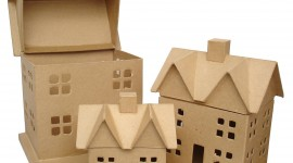 Paper Houses Wallpaper