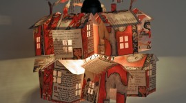 Paper Houses Wallpaper For Desktop